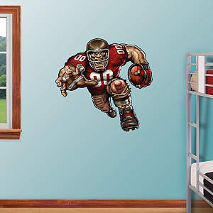 Beastly Buccaneer Fathead Wall Decal